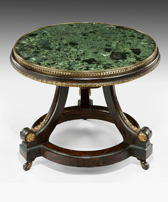 A low Regency period coffee table. Large Image 1