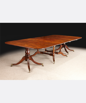 A George III Cumberland dining table.