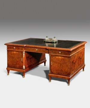 A 19th Century French partners desk.