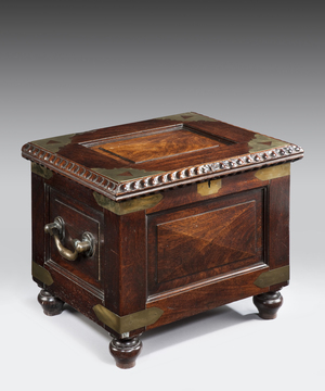 A 19th Century Colonial commode.