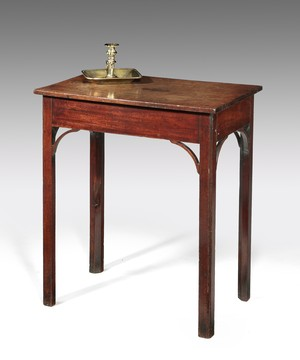 A Chippendale mahogany centre table.