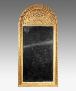 A 19th Century giltwood pier glass.