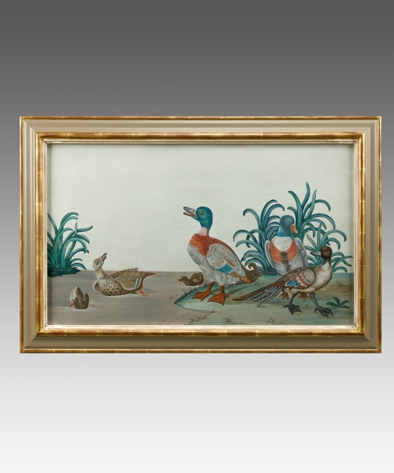 Antique duck painting
