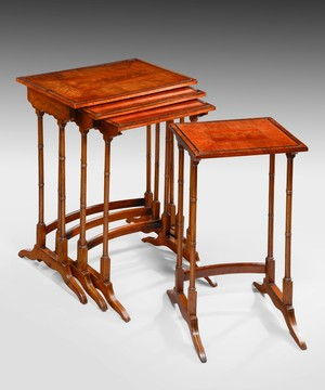 A 19th Century nest of tables.