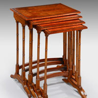 Victorian nest of tables