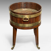 Antique oval wine cooler