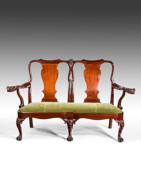 Irish George II settee.