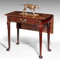 Antique George II side table.