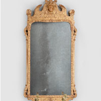antique George I mirror