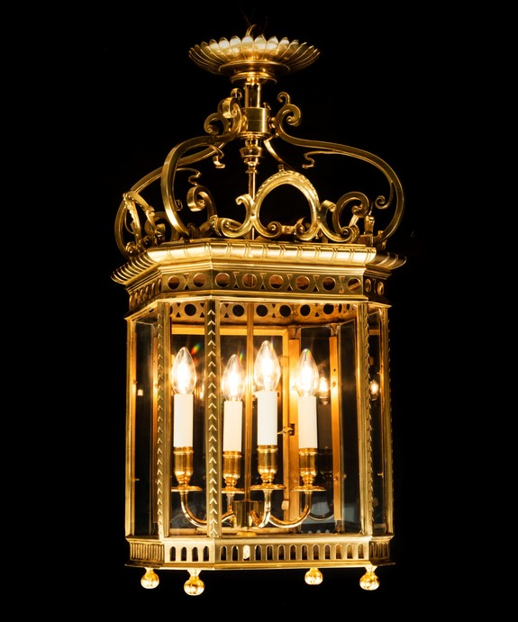 Large antique lantern