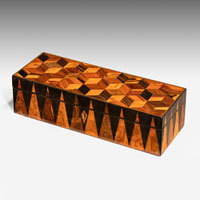 Tunbridge ware antique box