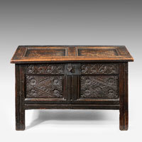 Antique Jacobean Coffer