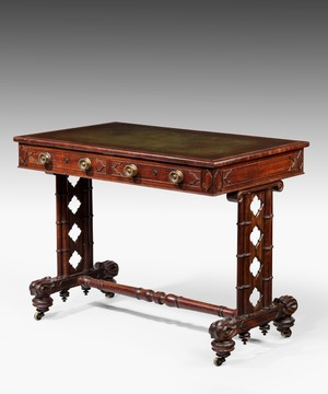 Regency writing table.
