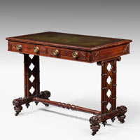 Antique Regency Writing Table