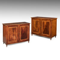 Pair Gillows Georgian cabinets