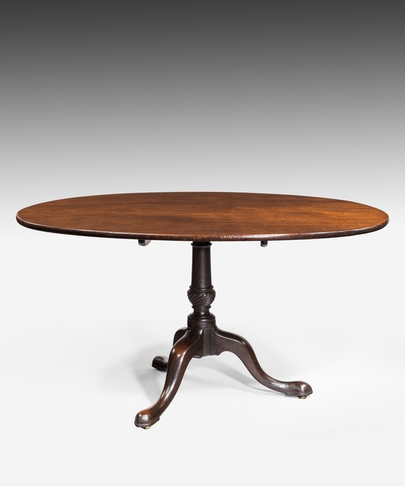 Georgian oval centre table