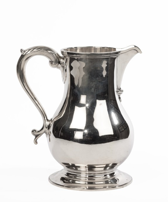 Sterling silver water jug