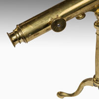 Georgian brass telescope