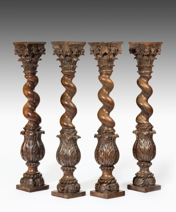 Baroque Carved Columns