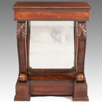 Antique Regency console table.
