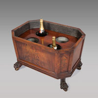 Antique Regenccy wine cooler