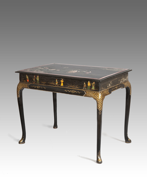 Queen Anne lacquered centre table
