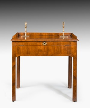 George II kingwood drawing table