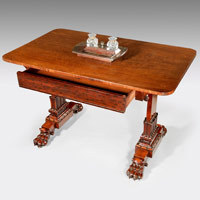 Antique Regency writing table.