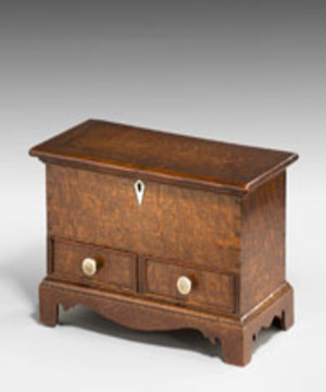 A 19th Century miniature mule chest.