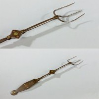 An antique toasting fork from the 18th Century.