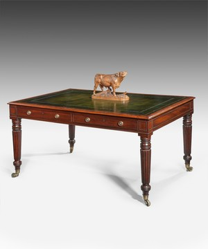 A Regency writing table.