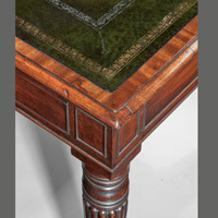An antique Regency writing table