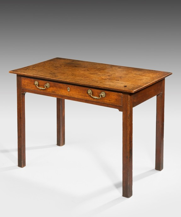 A Chippendale mahogany side table.