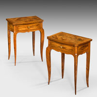 Antique pair of Louis XV tables.