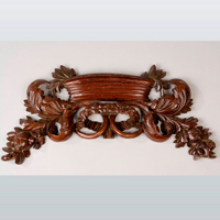 A Regency period carved mahogany applique. Thumbnail 1