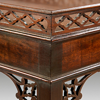 A good Chippendale period mahogany silver table. Thumbnail 1