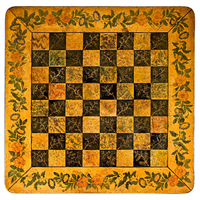 A Regency period rosewood chess table. Thumbnail 1
