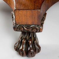 A Regency period rosewood veneered centre table. Thumbnail 1