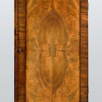 A beautifully patinated Regency period mahogany 2 door cabinet. Thumbnail 1