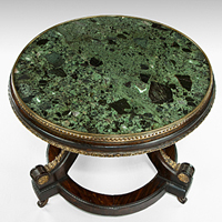 A low Regency period coffee table. Thumbnail 1