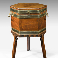 A Chippendale wine cooler. Thumbnail 2