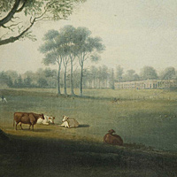 An English Park with a house in the background by D. Clowes. Thumbnail 2