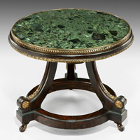 A low Regency period coffee table. Thumbnail 2