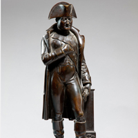 A 19th Century bronze statue of Napoleon. Thumbnail 2