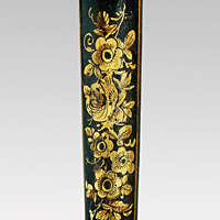 A rare Regency period japanned jardiniere. Thumbnail 3