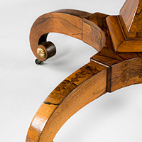A fine Regency period rosewood veneered centre table. Thumbnail 3