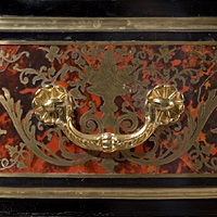 A Louis XIV revival boulle marquetry  and ormolu mounted commode. Thumbnail 3